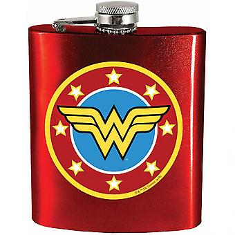 Wonder Woman Symbool Rode Fles
