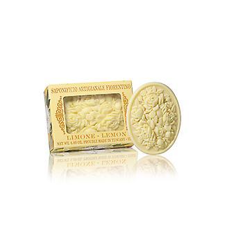 Sabão Artesanal Saponificio Artigianale Fiorentino - Limão - Filigree Decorado em Gift Box 125g