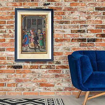Simon Bening - The Denial of Saint Peter Poster Print Giclee