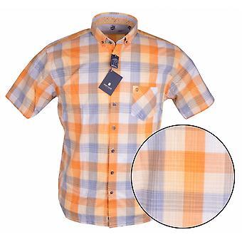 HATICO Hatico Chequered Short Sleeve Shirt