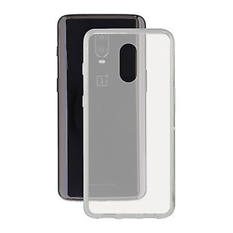 One Plus 6t Contact Flex TPU Transparent Mobile Phone Protection