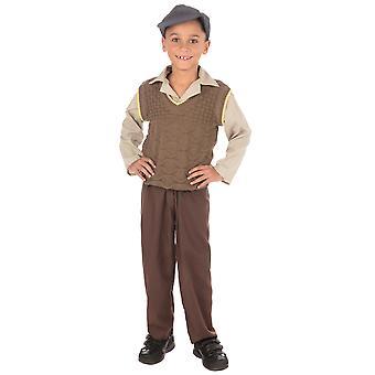 Bristol Novelty Boys Wartime School Boy Costume
