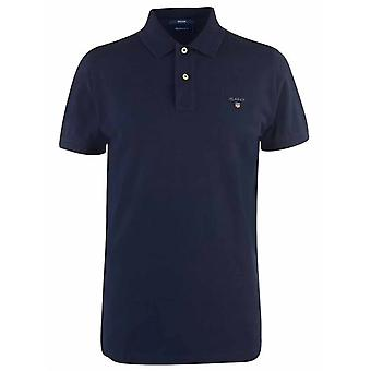 GANT GANT Navy Classic Polo Shirt