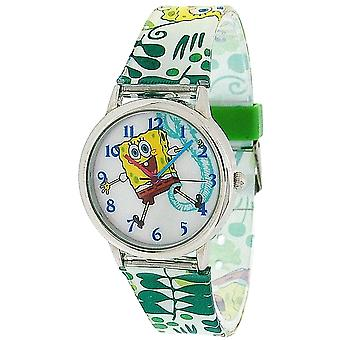 Spongebob Squarepants Kids - Childrens Analogue Pu Strap Watch SB042
