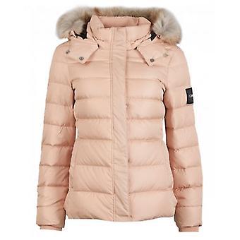 Calvin Klein Womenswear Essential Down Hooded Jacket