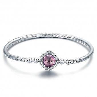 Sterling Silver Charm Bracelet Square - 5794