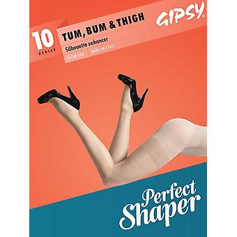 Gipsy 10 Denier Tum, Bum & Thigh Sheer Tights