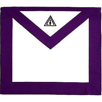 Masonic council rsm royal & select master member apron