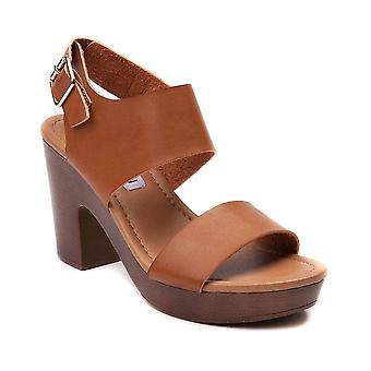 Madden tyttö naisten Lori kangas avoin rento nilkka hihna sandaalit