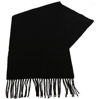 Fraas Plain Scarf - Black
