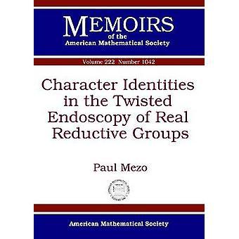 Identità dei personaggi nell'endoscopia distorta di Real Reductive Group