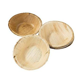 Eco-Friendly Tropical Palm Leaf Small Bowls x 6 Tableware