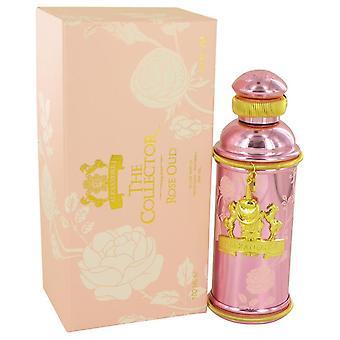 Alexandre J Rose Oud Eau De Parfum Spray von Alexandre J 3.4 oz Eau De Parfum Spray