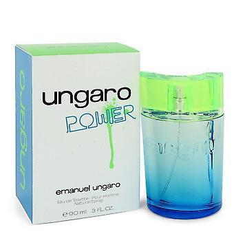 Ungaro Power Eau De Toilette Spray By Ungaro 3 oz Eau De Toilette Spray