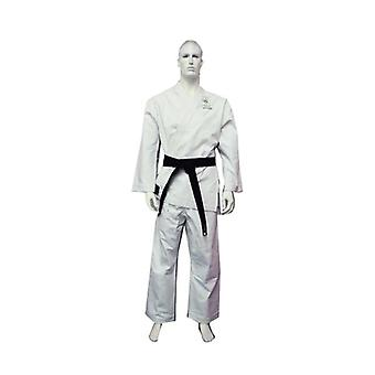 Yamasaki Gold Deluxe Brushed Canvas Karate Uniform 14 Oz
