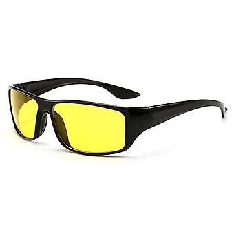 Anti Glare Night Vision Driver Goggles - Enhanced Light Glasses & Tired Eyes Reduction From Digital Light