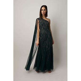 Grön mila klänning