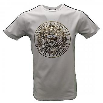 Glorious Gangsta Abila White Stretch T-shirt