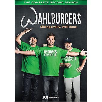 Wahlburgers sæson 2 [DVD] USA importerer