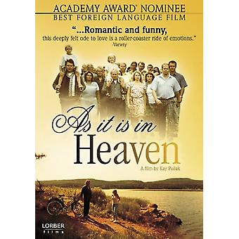 Som i himmelen (2005) [DVD] USA importera