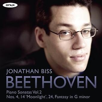 L.V. Beethoven - Beethoven: Piano Sonatas, Vol. 2 [CD] USA import