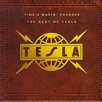 Tesla - Time's Makin' Changes-Best of [CD] USA import