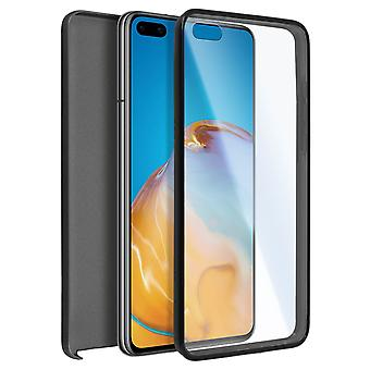 Cover Huawei P40 Hard Back + Soft Front Protection Black