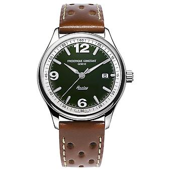 Frederique Constant Men's Vintage Rally Healey Automatic | Brown Leather Strap FC-303HGRS5B6 Watch