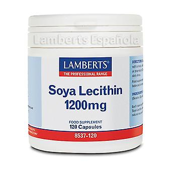 Soy lecithin 120 capsules of 1200mg