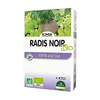 Organic black radish 20 ampoules