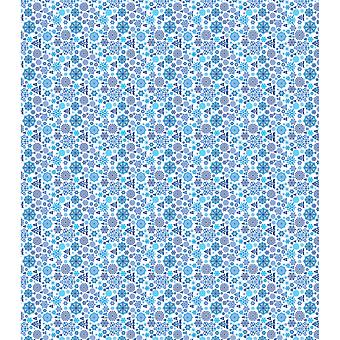 "Craft Consortium Decoupage Papers 13.75""X15.75"" 3/Pkg-Snowflake Damask"