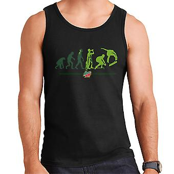 Mountain Dew Evolution Of A Skater Men's Vest