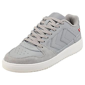hummel St Power Play Mens Fashion Trainers in Aluminium Navy