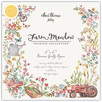 Craft Consortium Farm Meadow 6x6 Inch Paper Pad