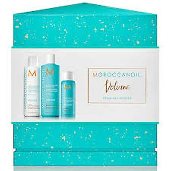 Moroccanoil Extra Volume Gift Set 250ml Shampoo + 250ml Conditioner + 75ml Root Boost