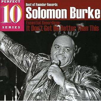 Solomon Burke - It Don't Get No Better Than This [CD] USA import