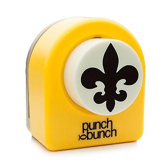 Punch Bunch Large Punch - Fleur De Lis