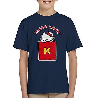 Hello Kitty Yellow K Kid's T-Shirt