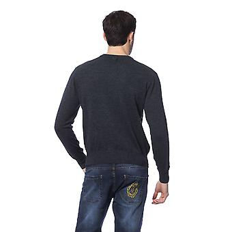 Milliardaire italien Couture Gri Sc Dk Grey Sweater -- BI81880368