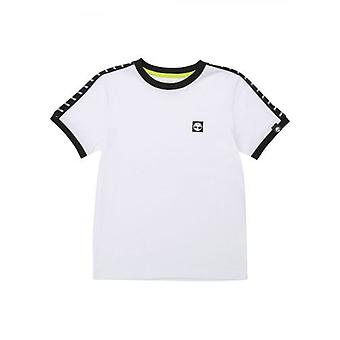 Chemise t-shirt à manches courtes blanches Timberland Kids