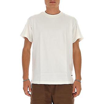 Jil Sander Jpur706530mr248808100 Miesten's Valkoinen Puuvilla T-paita