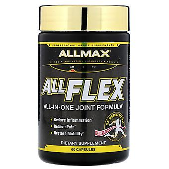ALLMAX Nutrition, AllFlex, All-In-One Joint Formula, 60 Capsules
