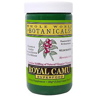 Whole World Botanicals, Royal Camu Powder, 3.5 oz (100 g)