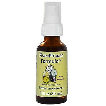 Flower Essence Services, Formule à cinq fleurs, Flower Essence Spray, Non-Alcoholi