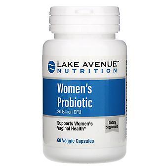 Lake Avenue Nutrition, Women's Probiotics, 20 Billion CFU, 60 Veggie Capsules