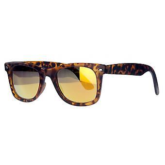 نظارات شمسية Unisex Cat.3 بني / ذهبي (AMU19208 K)