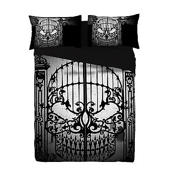 Alchemy - abandon all hope - duvet set uk double / us twin