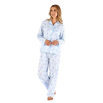 Slenderella PJ66202 Women's Floral Pyjama Set