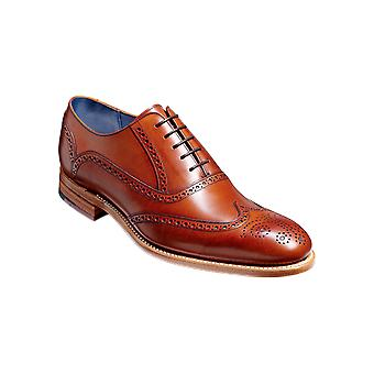 Barker Valiant - Antique Rosewood Calf  | Mens Handmade Leather Oxford Brogues | Barker Shoes