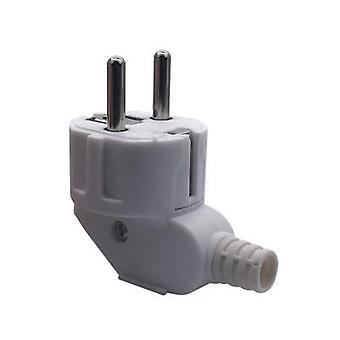 Flame Retardant, Eu Standard-2 Pins Plug For Power Adaptor